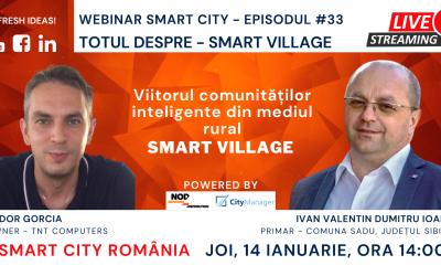 Smart Village – Viitorul comunităților inteligente din mediul rural