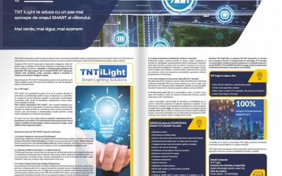 TNT iLight- soluții pentru smart cities